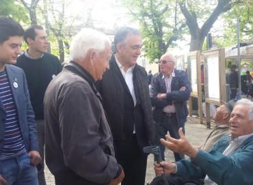 Il tour di Enrico Rossi : Casentino e Valtiberina