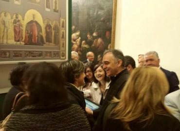 Visita al restauro della Resurrezione – San Sepolcro (AR)