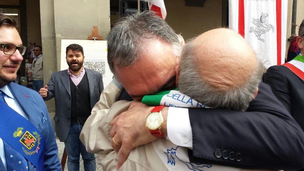 """25 Aprile a Prato. Rossi: """"Al fascismo di oggi alziamo gli argini dell'idealità"""""""
