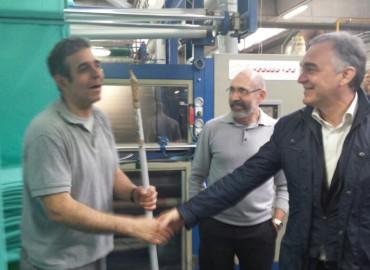 Il tour di Enrico Rossi : A Prato
