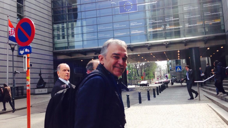 Il tour di Enrico Rossi: tappa a Bruxelles