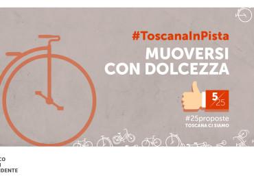#25proposte, La Toscana scommette sulla mobilità sostenibile