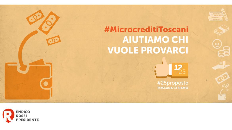 #25proposte, il microcredito per nuove microimprese