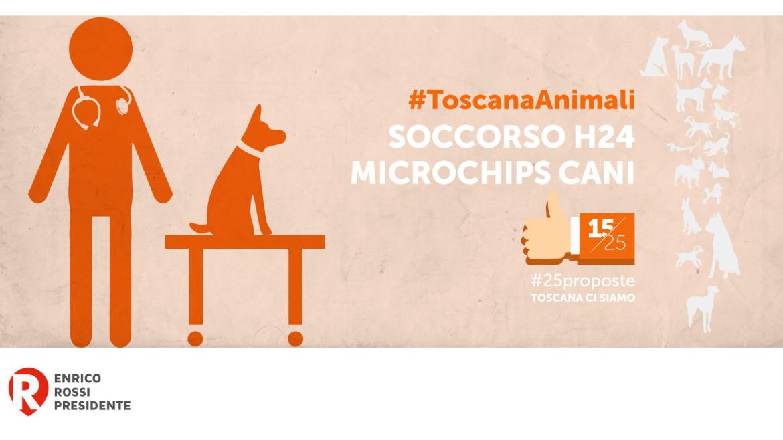 #25proposte, la Toscana per i diritti degli animali