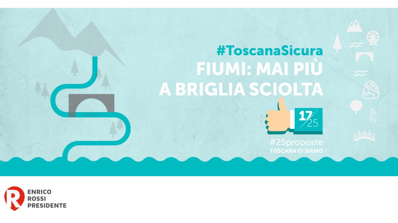 #25proposte, la Toscana per la pulizia dei suoi fiumi