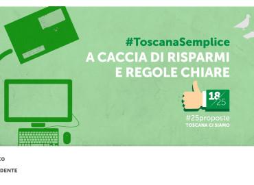 #25proposte, la Toscana a caccia di regole chiare e precise
