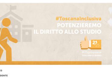 #25proposte, la Toscana rafforza il diritto allo studio universitario