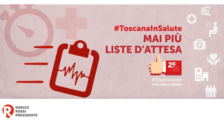 #25proposte, la Toscana abbatte le liste d'attesa
