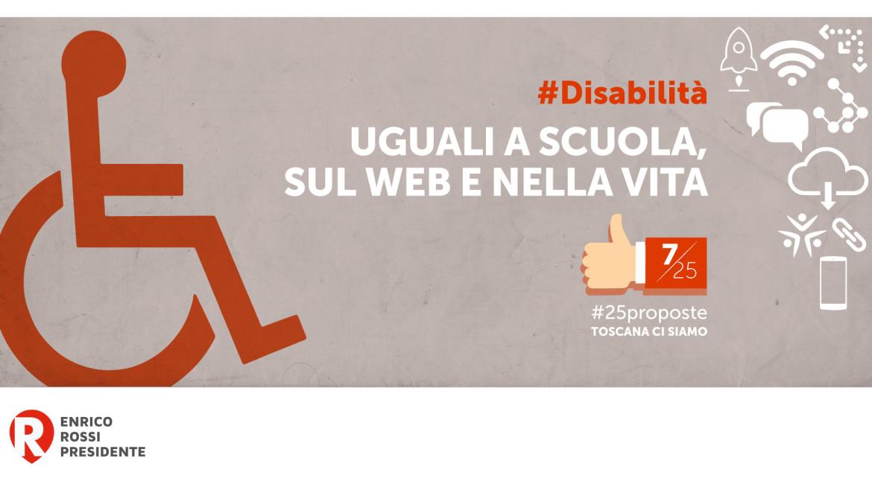 #25proposte, la Toscana per i diritti delle persone disabili