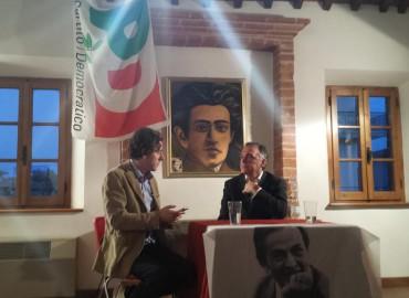 Giorno 37 – Pieve di Sinalunga – Intervista tra Gramsci e Berlinguer