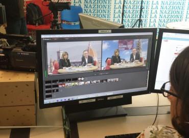 Giorno 38 – Firenze – Videochat de La Nazione