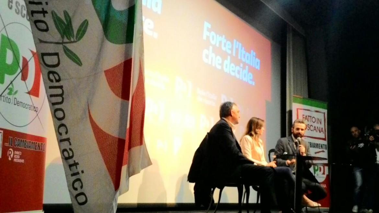 Giorno 40 – Firenze – Inizio tour con Maria Elena Boschi
