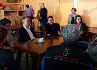 IL TOUR DI ENRICO ROSSI : ANCORA NEL PISTOIESE